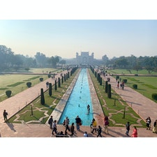 2020年1月25日 #インド #タージマハル タージマハル側からの景色 ☻ ほんっとにすごすぎて、最高すぎて ☆