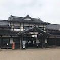 旧大社駅。出雲大社へ
