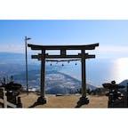 香川県 〜高屋神社本宮〜 天空の鳥居と呼ばれている 高屋神社の鳥居です。