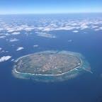 【2020・睦月】 上空にて多良間島を嗜む。