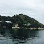 滋賀*竹生島  琵琶湖に浮かぶ島。