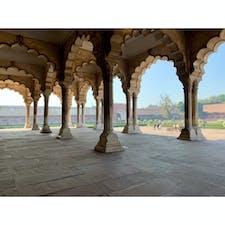 2020年1月25日 #インド #アグラ城 外も中も美しい ☺︎