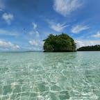 パラオ*カープ島  もちろん海もきれい。