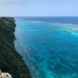 2020.2.21 伊良部島の三角点⁂ 断崖絶壁からの大パノラマビュー 宮古ブルーの美ら海は圧巻!