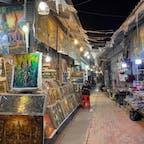 #アンコール・ナイトマーケット #シェムリアップ #カンボジア 2020年2月  これ売れるのか...?と思う売り物No.1は絵画🤔🤔
