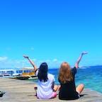 アイランドホッピングで撮った1枚📸 お気に入り🤤  #フィリピン #セブ島 #アイランドホッピング