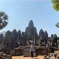 #バイヨン寺院 #アンコールトム #シェムリアップ #カンボジア 2020年2月  アンコールワットのオマケくらいにしか思ってなかったのに良すぎてしょっぱなから時間も体力も使いすぎた😆😆