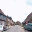 フランス🇫🇷 北部 フランスの美しい村【ブーヴロン・アン・オージュ】では可愛いレース屋さんなどあり、お土産を買うのにもぴったりです♡ #フランス #ブーヴロン・アン・オージュ #街並み