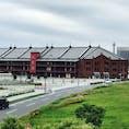 横浜 赤レンガ倉庫 曇りだったのが残念。