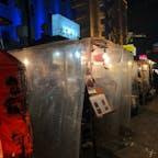 福岡の有名な中洲屋台街。 アメトークでやまちゃんのラーメン紹介してたから食べたかった、めちゃくちゃ美味しかった。