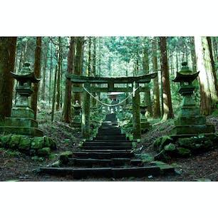 熊本県(阿蘇) 〜上色見熊野座神社〜