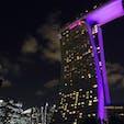 【2019・文月】 シンガポール にて光の絶景を嗜む。(マリーナベイ裏ビュー)