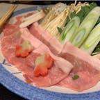 #ちちぶ温泉はなのや #秩父 #埼玉 2020年3月  お夕飯のメインは秩父の三元豚しゃぶしゃぶ🐖🍲 付け合わせ、焼き物、揚げ物、お刺身どれも美味だった...