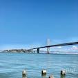 サンフランシスコ ゴールデンゲートブリッジじゃ無い方の橋。