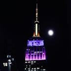 New York / Manhattan Empire State Building 1931年完成、2020年で89歳になるエンパイアステートビルディング。光り輝く姿を見ると元気になれます。 #newyork #manhattan #empirestatebuilding