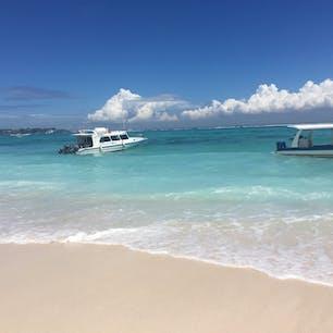 インドネシア*レンボンガン島  バリ島からtrip🛥 本島の海とは比べものにならないぐらいキレイだった✨