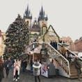 プラハ旧市街 クリスマスが好き〜🎄 ホットワインを毎日のように飲んでたね。  #thosedayswithyou #praha