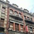 日本の統治時代の建物が残る迪化街