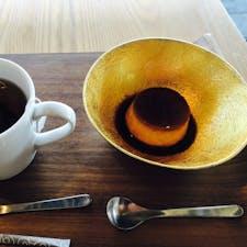 2020年3月 能作 デザートは錫のカップで作ったプリン