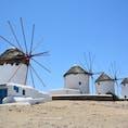 ギリシャ カトミリの風車