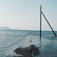 ちょっと足を伸ばして御輿来海岸へ。 静かで波の音が心地いい場所でした☺️  ☆御輿来海岸 宇土市