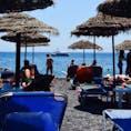 ギリシャ カマリビーチ