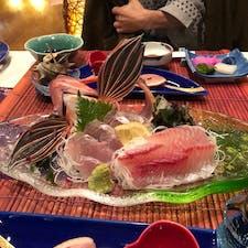 コロナウイルスのせいで台湾に行けなくなったため、西伊豆、土肥温泉に行ってきました。宿は、瑠璃花という名前です。外国の方は、こういうお魚の姿を見たら、どう思うのでしょうね?お刺身と金目鯛の煮付けが、美味しかったです。