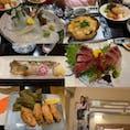 弘前ではスーパーホテル弘前に宿泊しました。ロフトがある部屋に娘は喜んでいました。夕食は、ホテルから徒歩30秒の津軽郷土料理の店『あば』にて帆立の貝焼き、ヤリイカなどの刺身、生ほっけの焼き魚などを頂きました。 素材が良いのも嬉しかったのですが、店員さんとの何気ない会話や料理人の方の職人技に感動しました。