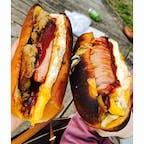 今屋のハンバーガー in西公園