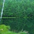東山魁夷の絵画『緑響く』の モチーフになった御射鹿池です。