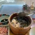 秋田県男鹿市  男鹿の郷土料理『石焼桶鍋』のお店 『美野幸』にて
