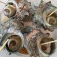 大島の島じまん:サザエのつぼ焼き 4ついただきました。 こっちも美味しい!