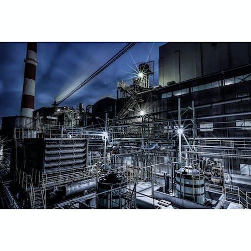 尼崎工場夜景