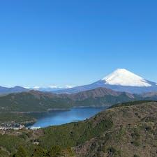 富士山&芦ノ湖 from大観山