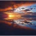 #ボリビア#Uyuni#ウユニ塩湖#ウユニ塩湖の夕陽 Center of the Sky.