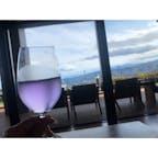 【熱海】ホテルグランバッハ熱海クレッシェンド  今年のウェルカムドリンクは スミレ 甘くて美味しかった  #静岡° #熱海 #2020/03