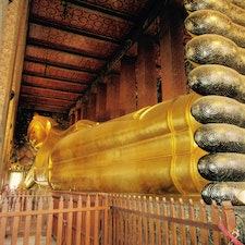 Wat Pho, Thailand🇹🇭 long long body, and the name is also…