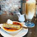 Buvette☕️🍫  クレームブリュレがびっくりするほど 美味しかった🥺✨  #日比谷カフェ #有楽町カフェ
