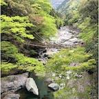 四国の旅。かずら橋。 去年の今頃は四国一周に出かけてたのに(>_<)また行きたい〜☆