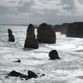 Oceans Road in Australia