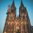 ドイツ、ケルンの世界遺産 「ケルン大聖堂」 工事してたのか残念だったなあ