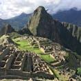 ペルー、マチュピチュ遺跡。 本当に一日いても飽きない場所だった。