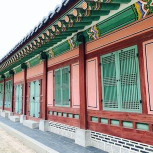 韓国の景福宮!確か!笑笑
