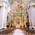 イタリアの教会はどこも綺麗🛕 立体的に見えた!