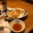 ヤリイカの天ぷら 😋😋😋