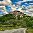 トリュフの産地、クロアチア、モトブン。 トリュフを一生分食べたー!
