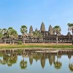 カンボジア アンコールワット 日の出もいいけど日中も素晴らしいです
