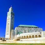 Casablanca Mosque Hassan-Ⅱ, Morocco🇲🇦 place of prayer🙏 so we non-muslim can't enter...