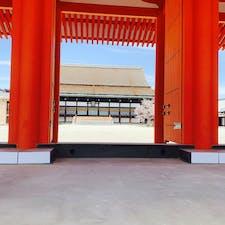 春の京都御所