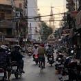 夕方、ホーチミンの中華街チョロンにある教会に向かって歩いてみた。 #ベトナム #ホーチミン #チョロン #中華街